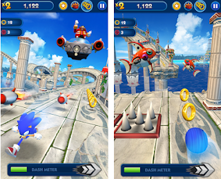 Sonic Dash Mod Apk unlimited money free on android