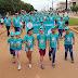 Caminhada em prol do hospital do câncer foi realizada em Acrelândia no último domingo.