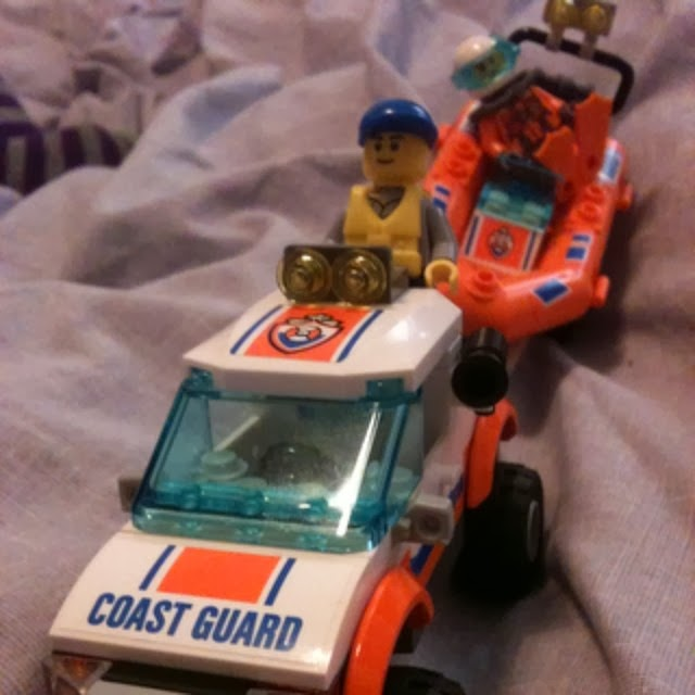 Lego City Coastguard 4x4 and Speed Boat