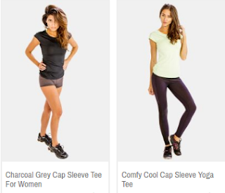Fitness T Shirts for women by Alanic Activewear