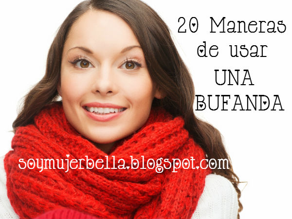 20 formas de usar una bufanda en video