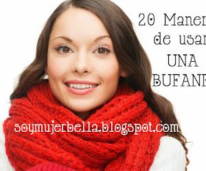 20 maneras de usar una bufanda