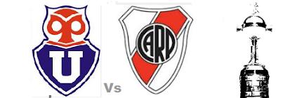 Universidad de Chile vs River Plate en VIVO