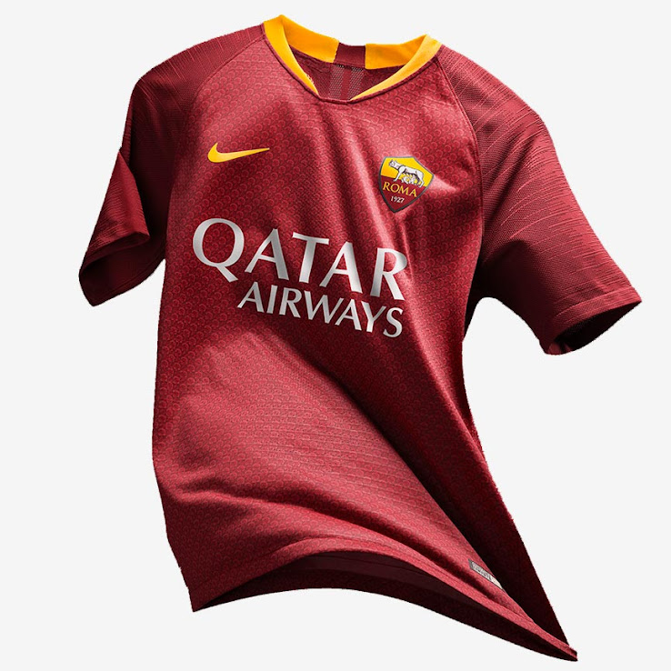 a022f0aaf AS Roma 18-19 Home Kit Revealed - Footy Headlines