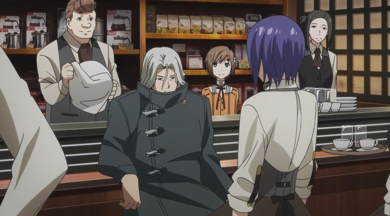 Tokyo Ghoul √A: Episódio 08 – Old Nines