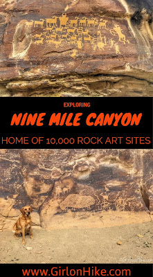 Nine Mile Canyon, Utah