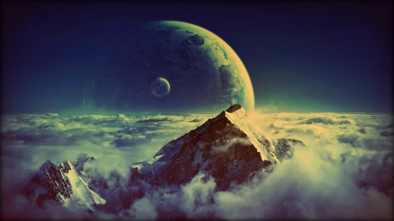 Beautiful Mountain Landscape Wallpaper