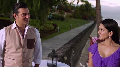 Arbaaz Khan And Sunny Leone High Resolution HD Photo