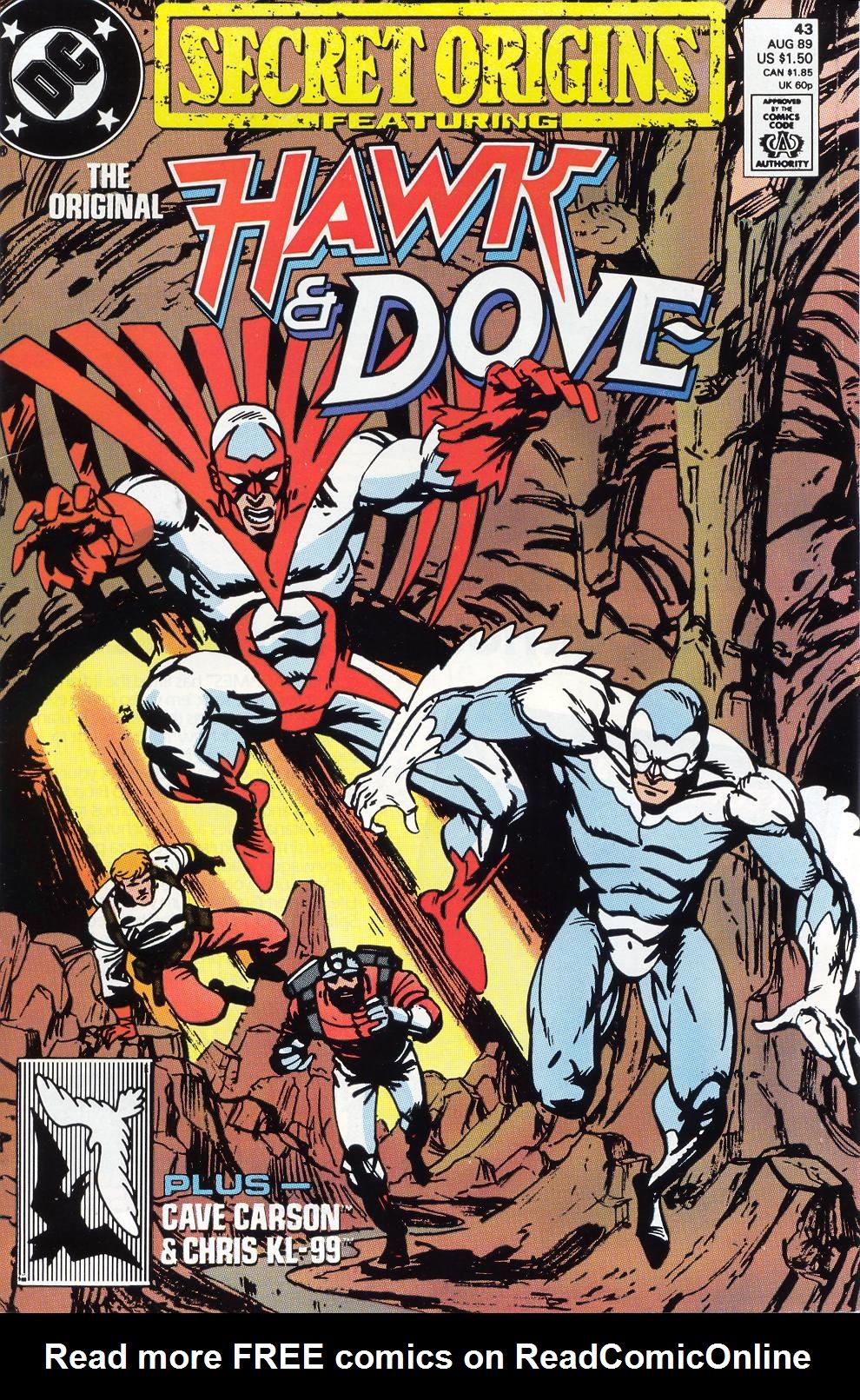 Read online Secret Origins (1986) comic -  Issue #43 - 1