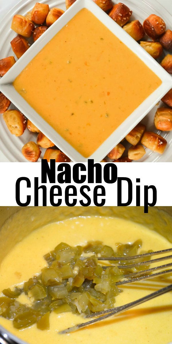 Homemade Nacho Cheese Dips an easy to make appetizer recipe in under 10 minutes from Serena Bakes Simply From Scratch.