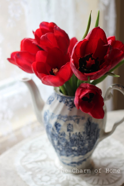 Spring tulips: The Charm of Home