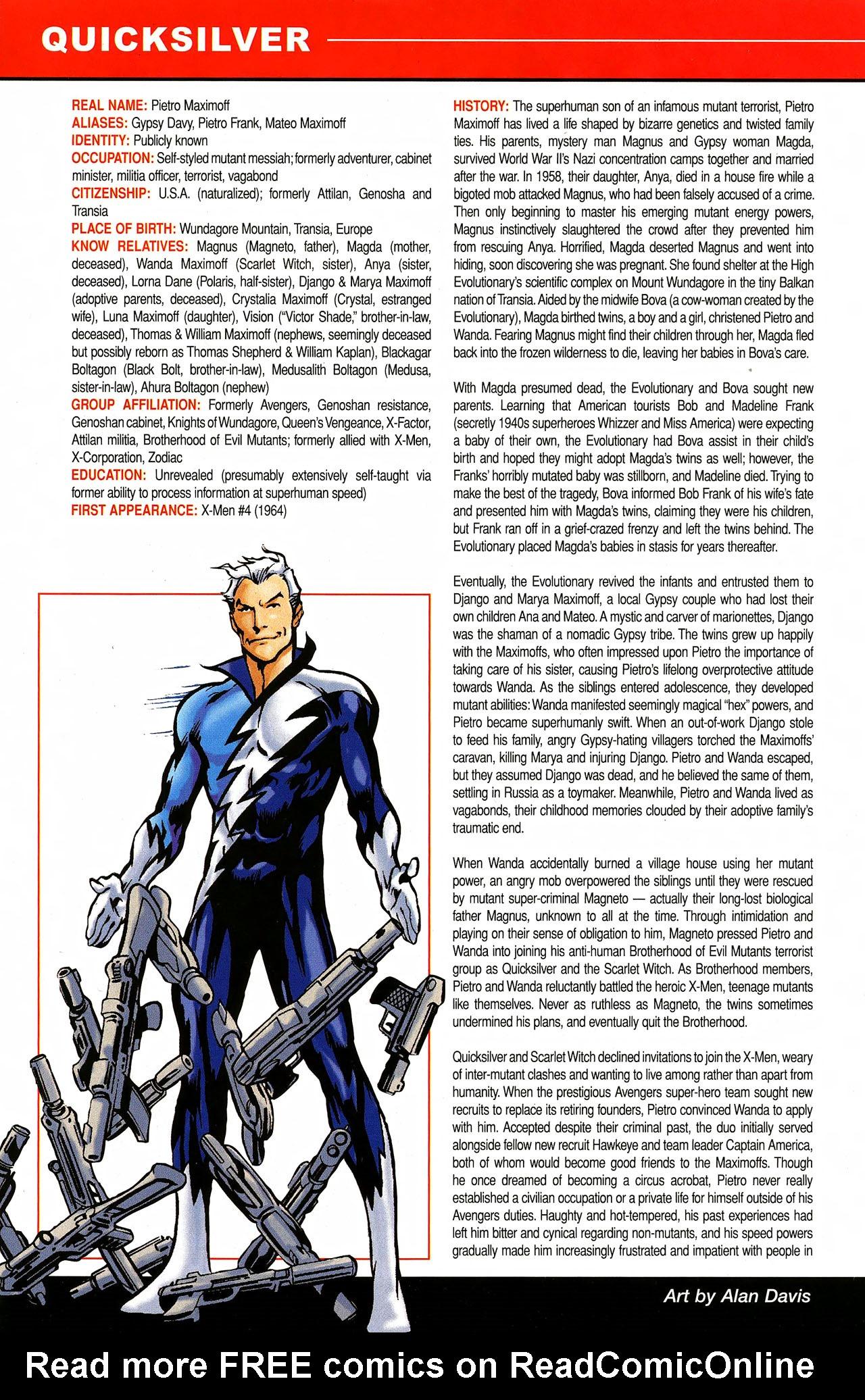 Read online All-New Official Handbook of the Marvel Universe A to Z comic -  Issue #9 - 6