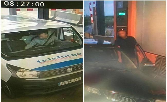 vehículos que los terroristas usaron para atentar en Barcelona