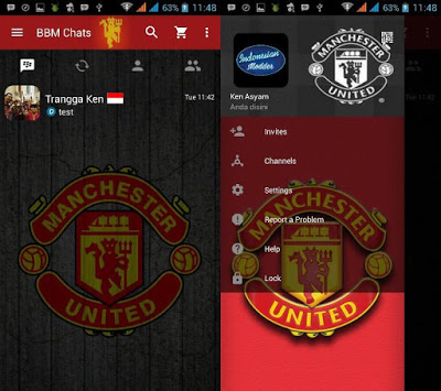 Bbm Mod Manchester United