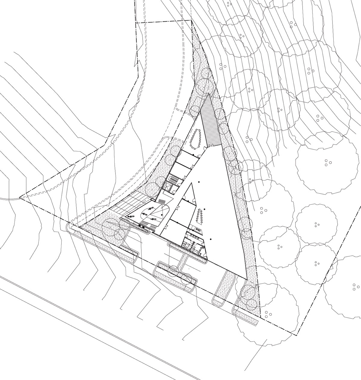 First floor plan drawing © courtesy of tony owen partners