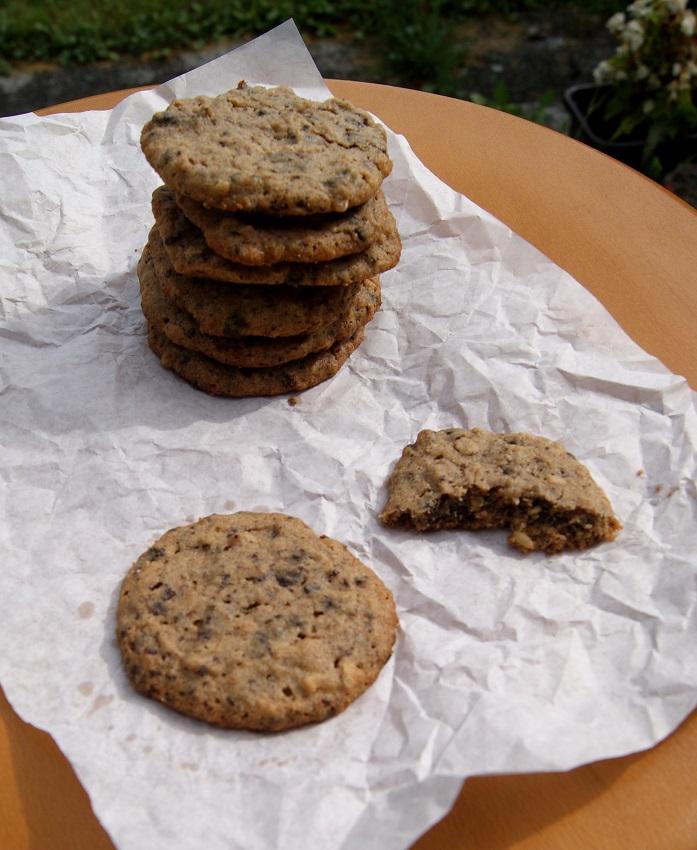 Ciasteczka bezglutenowe z masłem orzechowym i kawałkami czekolady