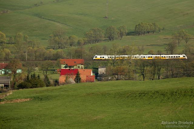 Lot balonem - pociąg - Koleje Dolnośląskie