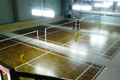 Lantai Lapangan Badminton Gor BIC