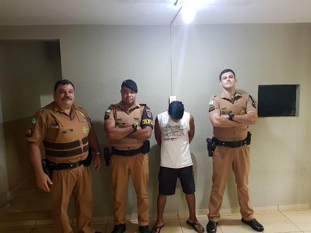 Segundo foragido da cadeia de Iretama é preso pela PM de Roncador