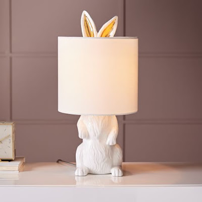 Ceramic Rabbit Table Lamp