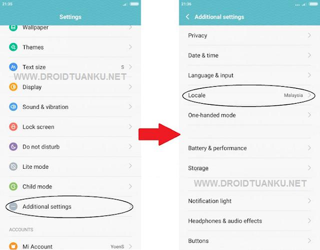 Cara Mengaktifkan Sinyal 4G LTE Only Xiaomi Redmi Note 2