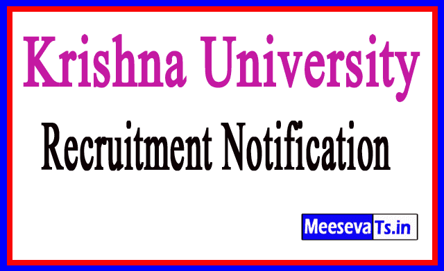 Krishna University Recruitment