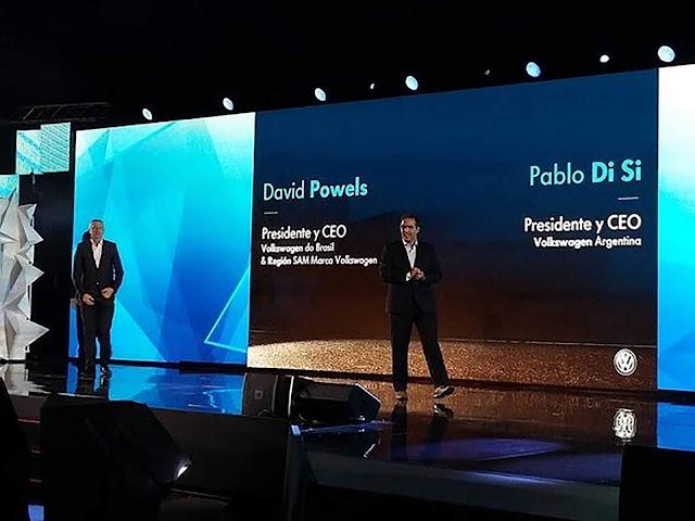 Pablo Di Si sucede David Powels no comando a VW Brasil