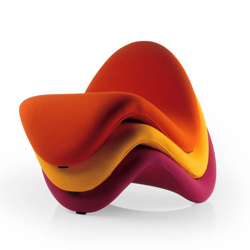 Ergonomic Chair Home Morris Tongue By Artifort | Moderndesigninterior.com