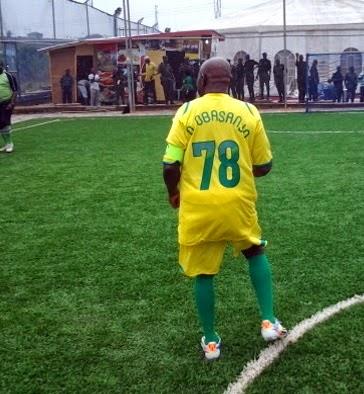 obasanjo birthday match