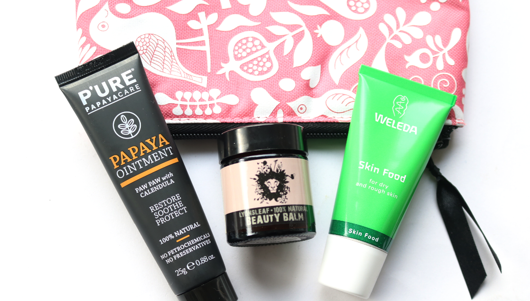 My Top 3 Multipurpose Winter Skincare Products For Your Handbag