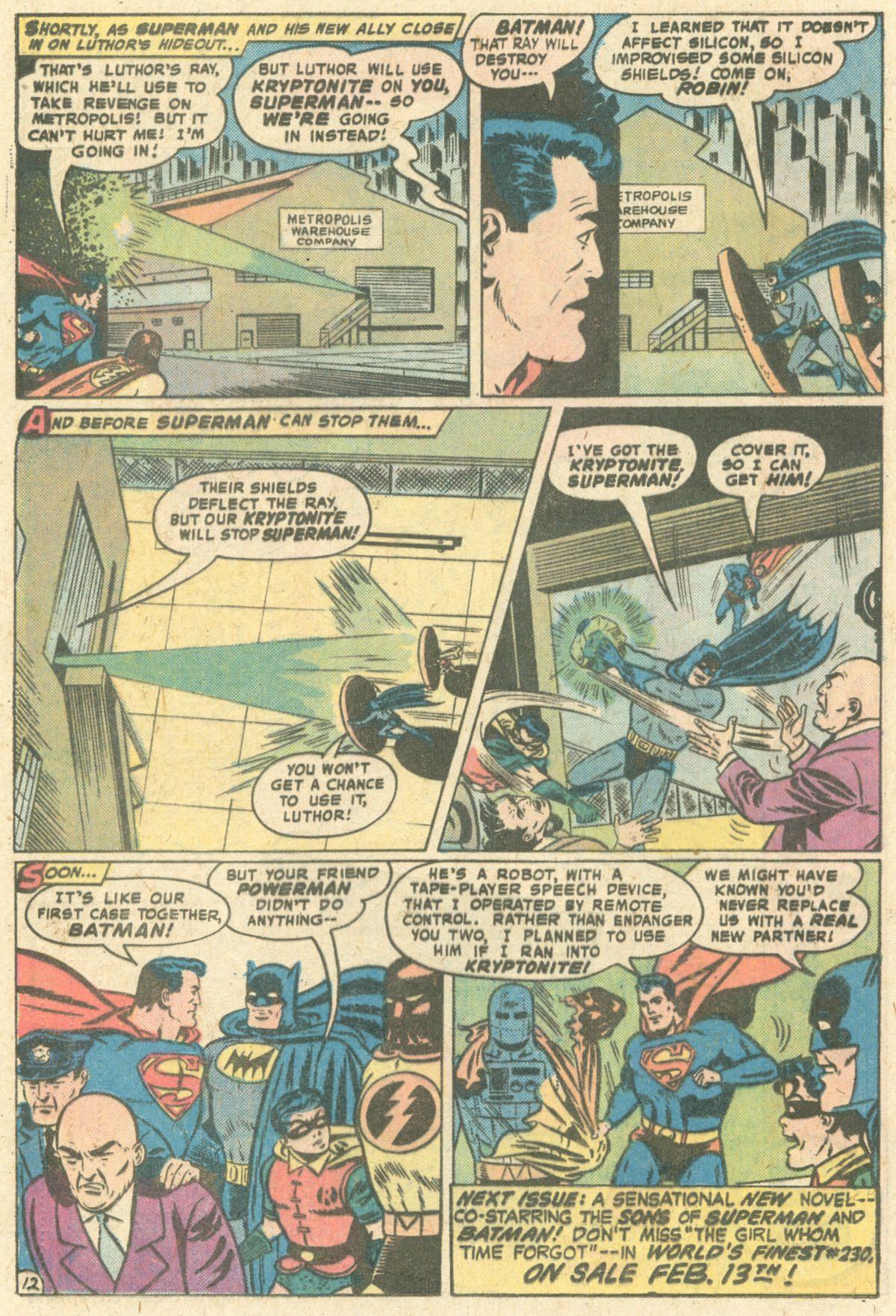 Read online World's Finest Comics comic -  Issue #229 - 20