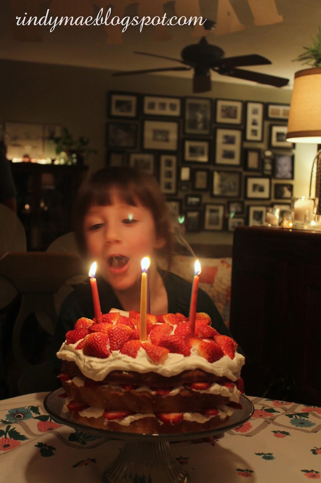 Happy Birthday Baby Rise Cake