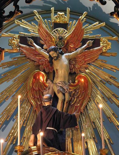 São Francisco, na igreja de Ordem Terceira de São Francisco em São Paulo