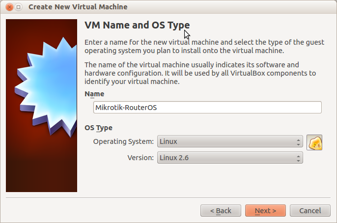 My Home Lab: Installing Mikrotik RouterOS under VirtualBox