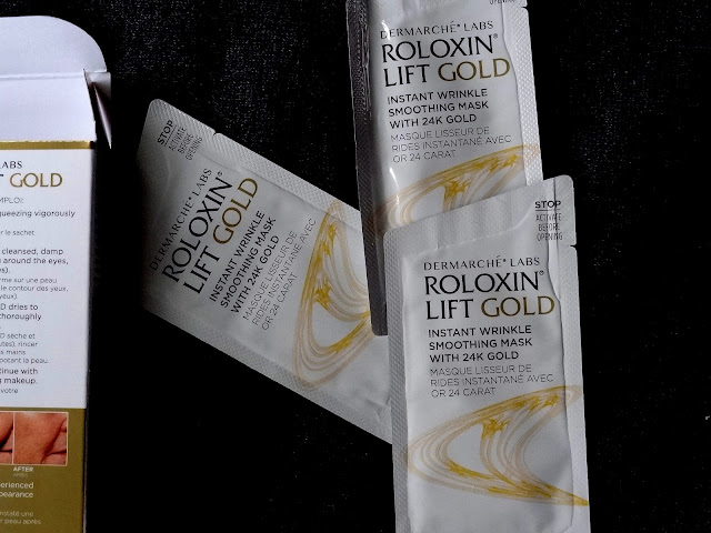 Dermrache Labs Roloxin Lift Gold Instant Wrinkle Smoothing Mask