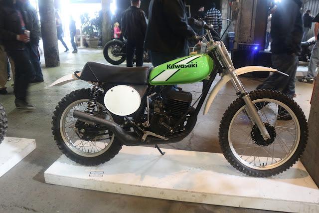 the one moto show number 9 custom build kawasaki motorcycle