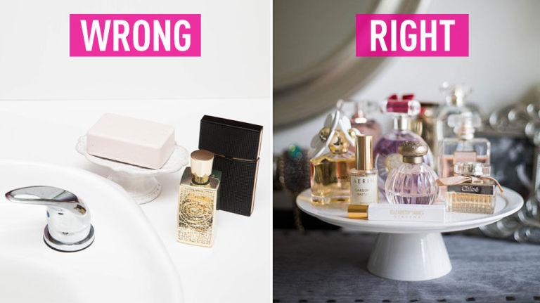 Foto : Kesalahan Saat Menggunakan parfum yang Sering dilakukan!!