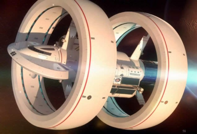 NASA Interstellar Warp Drive Spaceship