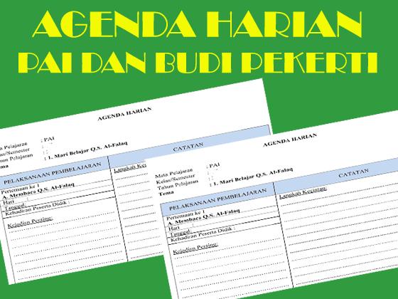 Agenda Harian PAI