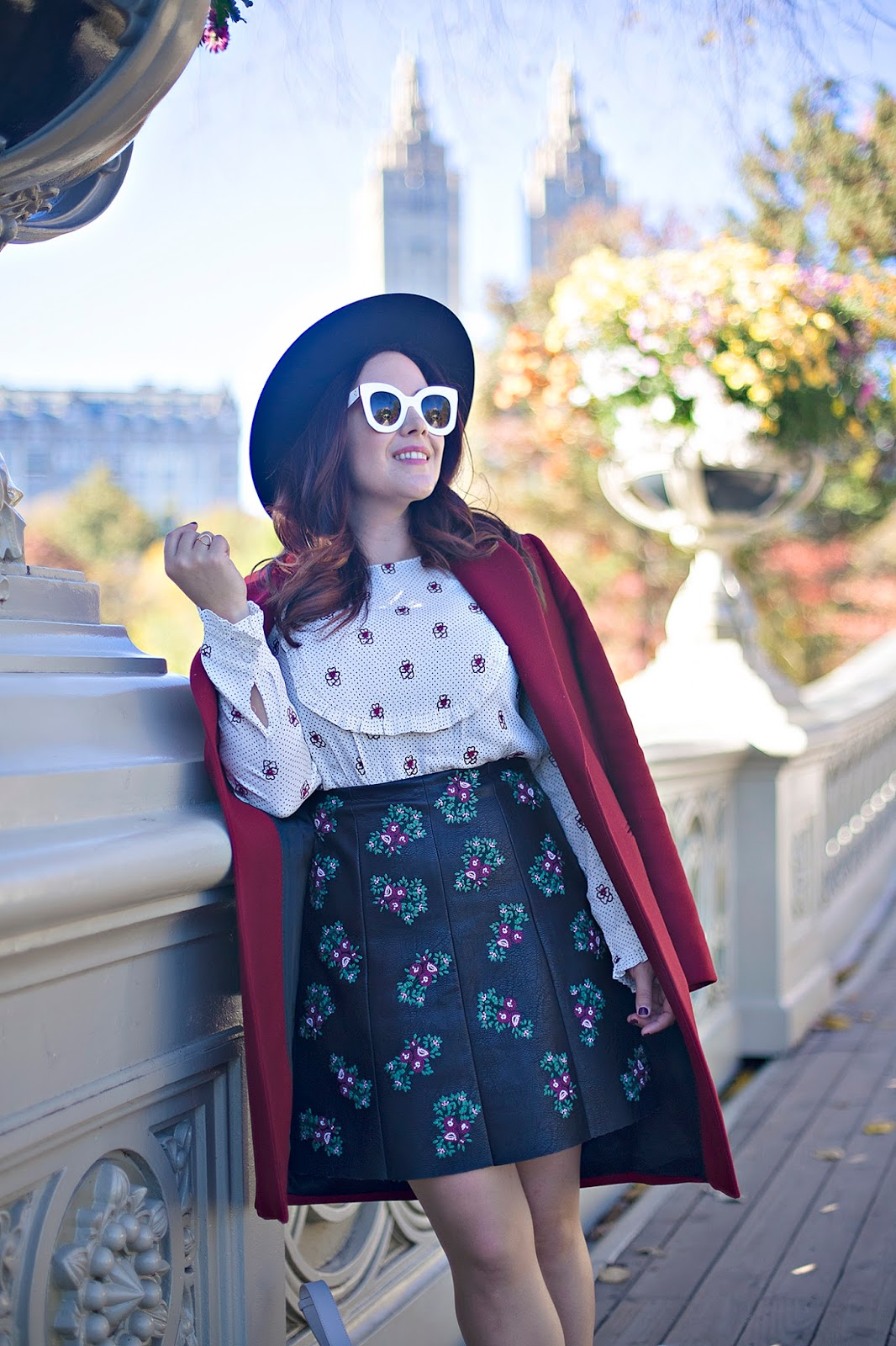 How to mix prints and patterns for fall