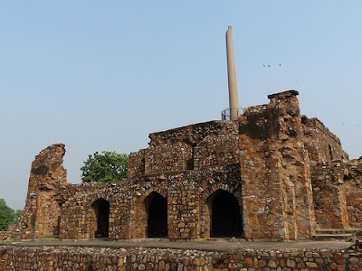 Haunted Feroz Shah Kotla Fort in Delhi
