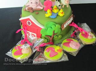 bolachas aniversário animais