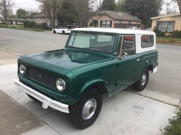 Great Shape, 1964 International Scout 80