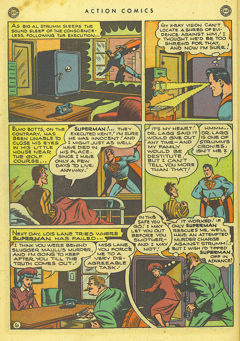Read online Action Comics (1938) comic -  Issue #118 - 7