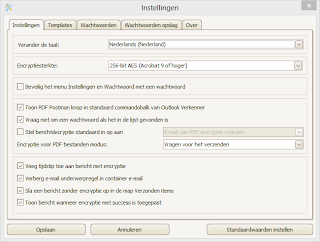 Email encryption for Dutch users. PDF Postman add-in for MS Outlook supports Dutch language.