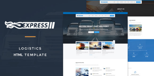 Free Express Logistics HTML Template v.1.0