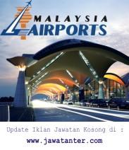 Jawatan Kosong Malaysia Airports Holdings Berhad