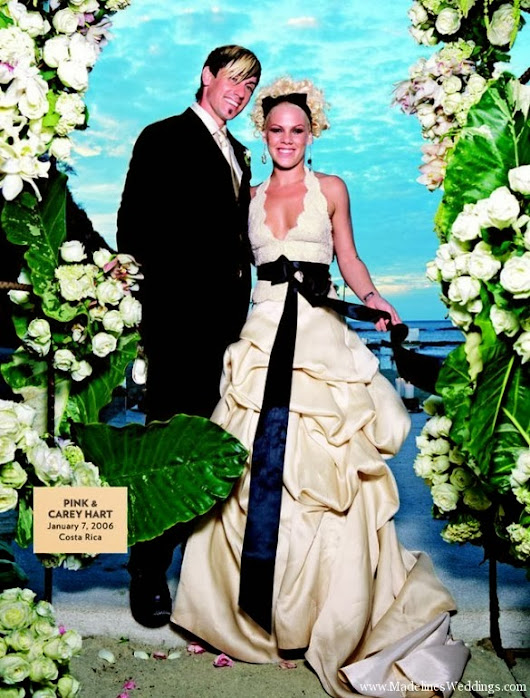 Pink and Carey Hart's Wedding