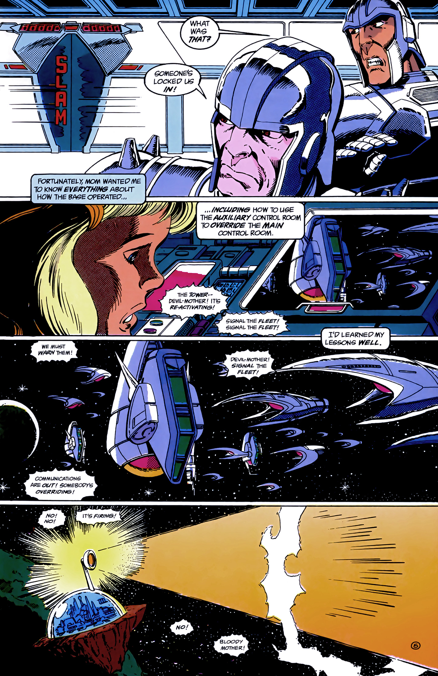 Legion of Super-Heroes (1989) 9 Page 5