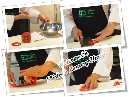 afc studio martin yan cutting skills capsicum